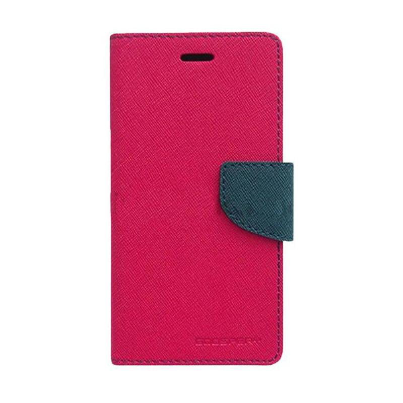 Goospery Fancy Diary I Phone 7 Plus - Magenta Biru