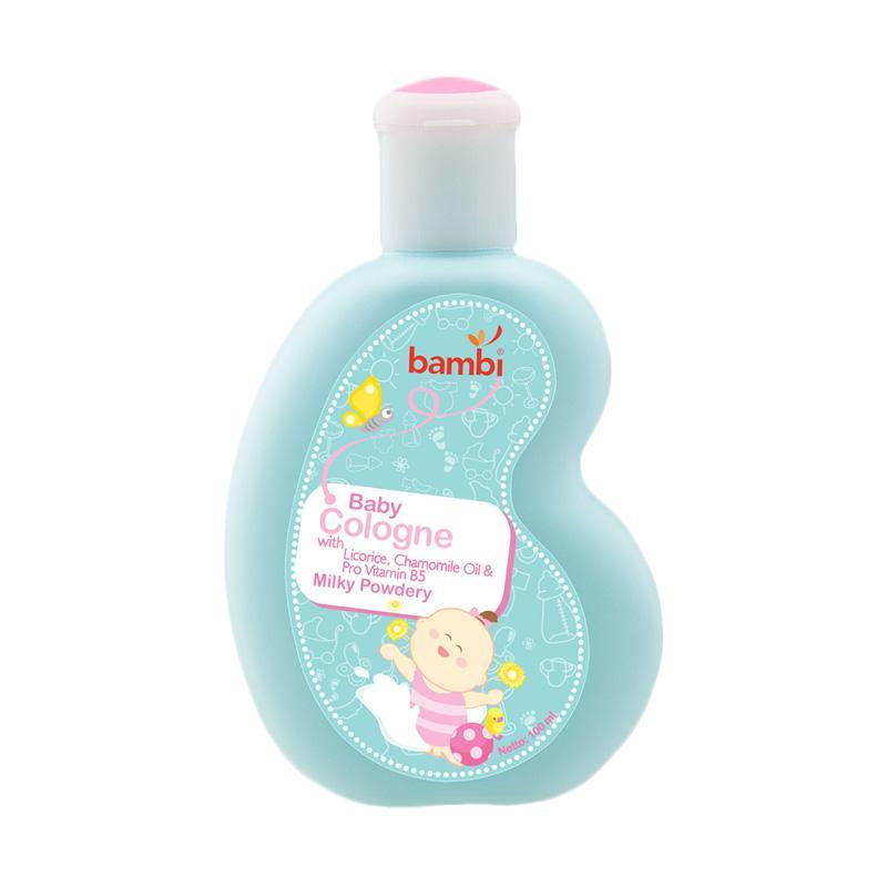 Bambi Baby Cologne Milky Powdery [100 mL]