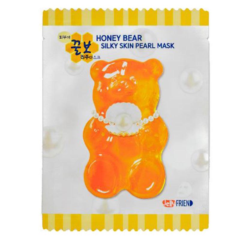 Frienvita JellyFRIEN Honey Bear Silky Skin Pearl Mask