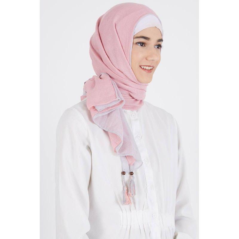 Dafhina Pashmina Pink