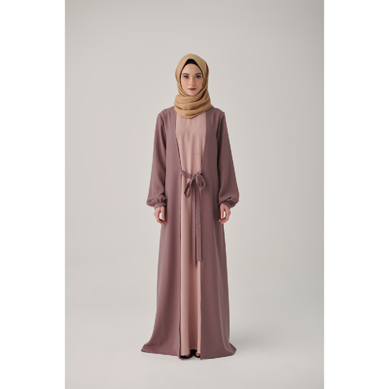 Suqma Nevah Dress Spanish Rose- Dusty Pink