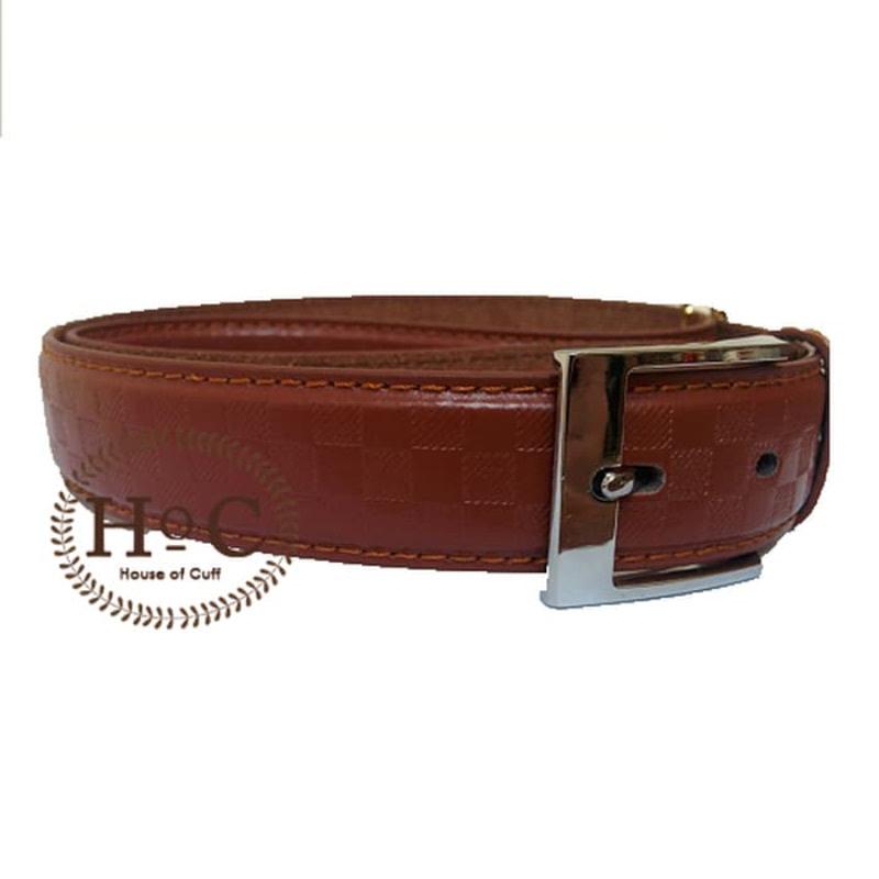 House Of Cuff Suspender Belt Gesper 09 - Coklat