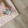 Blossom Chevron Rug - Karpet - Pink & Putih 200x140cm