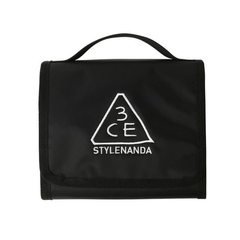 3CE Wash Bag Small - Black