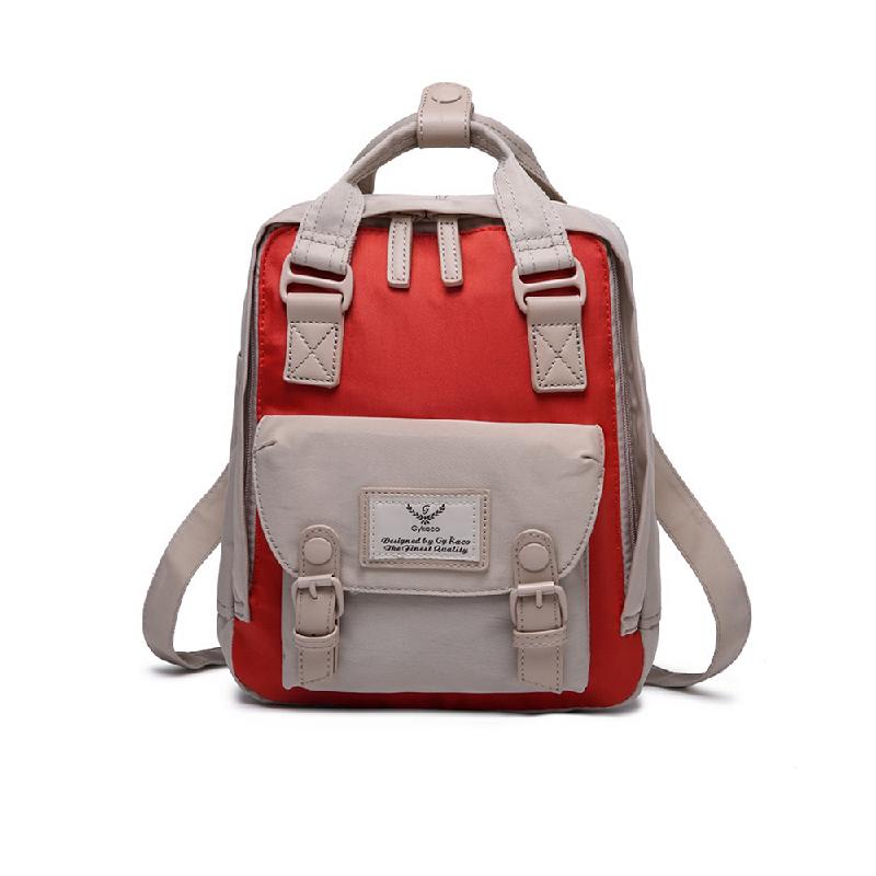 GYKACO DIONA Red - Tas Ransel Wanita - Fashion Backpack (Import)