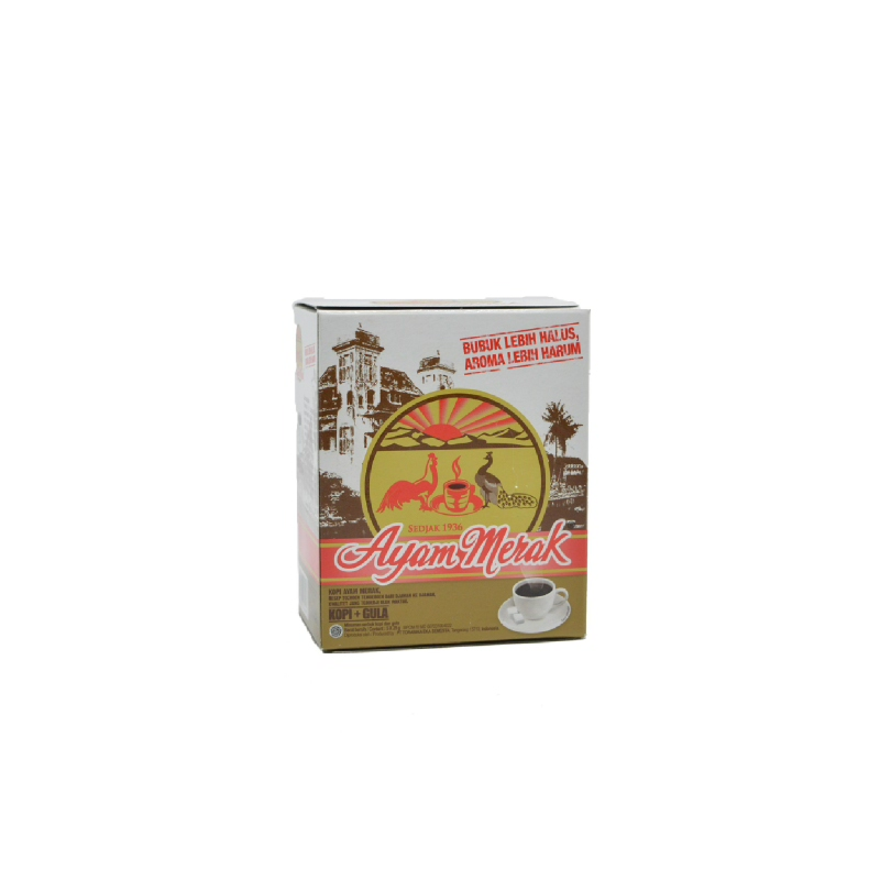 Ayam Merak Kopi Gula Box 5S X 25Gr