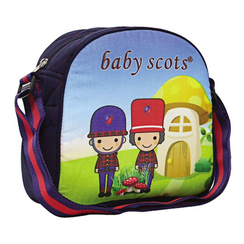 Baby Scots Simple Bag PrintBST2101 Navy