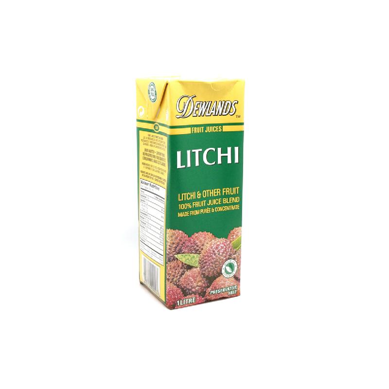 Dewlands Natural Juicelitchi Juice 1 Lt