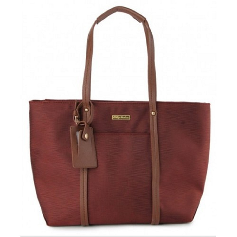 Phillipe Jourdan Tiara Tote Bag Maroon