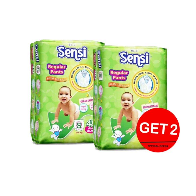 Sensi Dry Diaper Pants Size S 48S (Get 2)