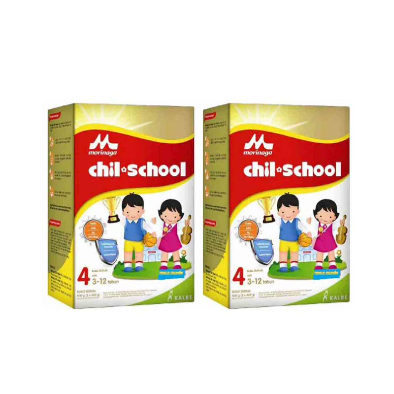 Morinaga Powder Milk Chil School Gold Madu Box 800 Gr (Get 2)