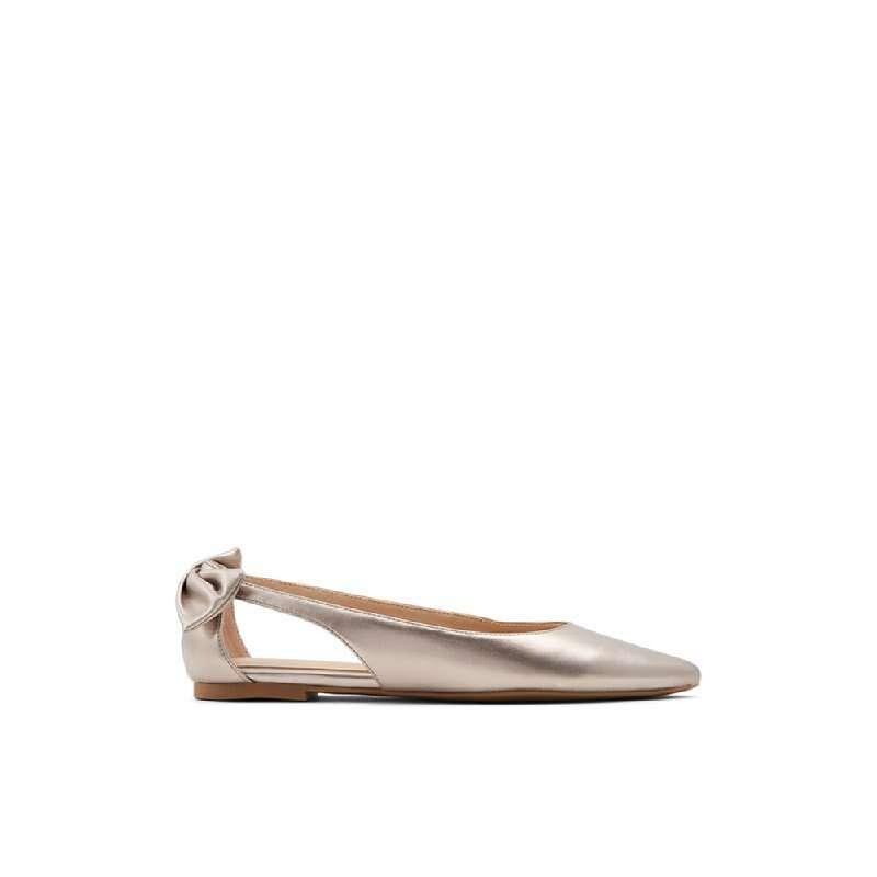 ALDO Ladies Footwear Flats Shoes MORANI-041-Light Silver