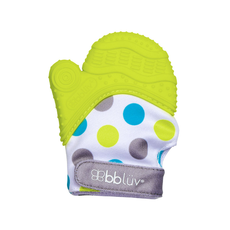 BBLUV Gluv Teetheng Mitten - Lime