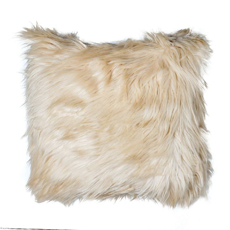 Latte Fur Cushion - Coklat 40x40cm