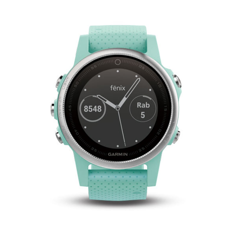 Garmin Fenix 5S, Frost Blue Tone Sapphire with frost Blue Band
