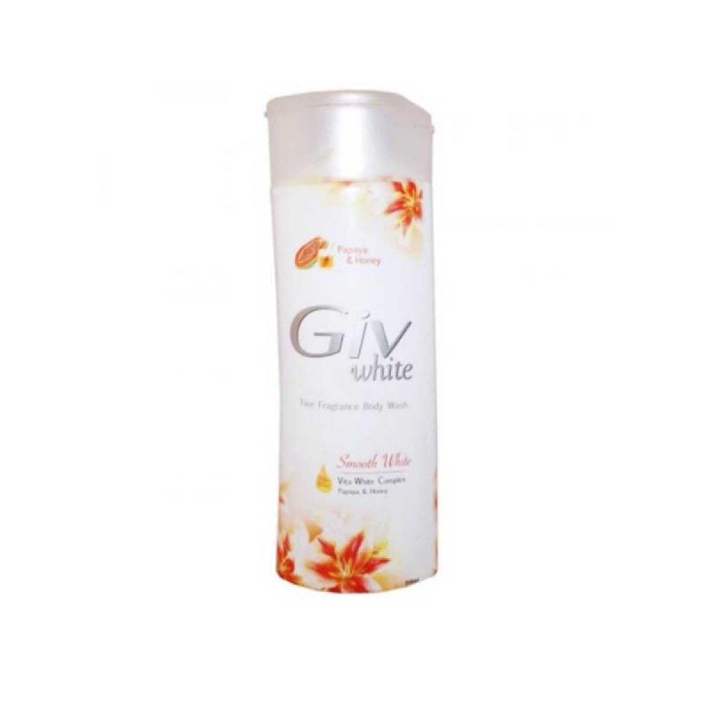 Giv Sabun Mandi Smooth White Papaya Botol 250 Ml