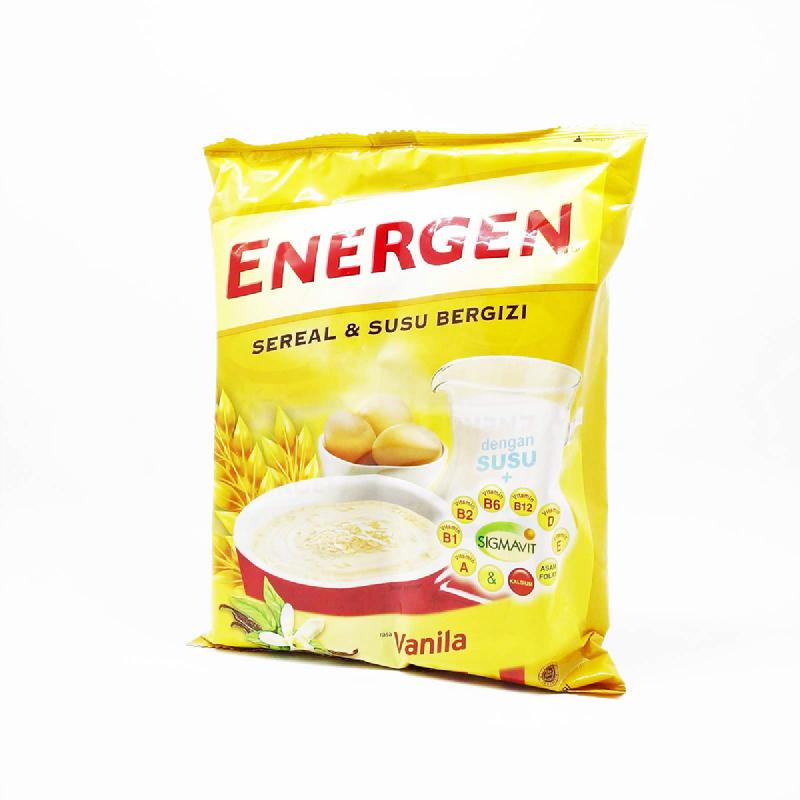 ENERGEN VANILLA BAG (20SCx30G)