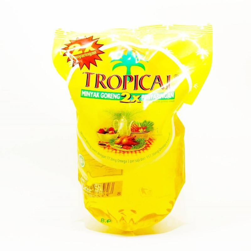 Tropical Minyak Grg Pouch 2 L