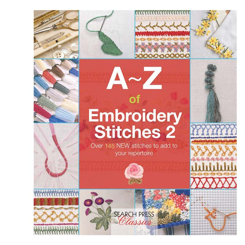 A-Z of Embroidey Stitches 2