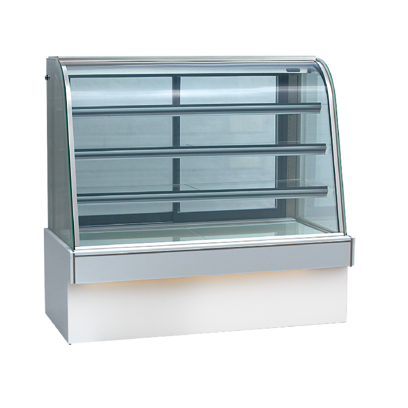 Crown Cold Bakery Showcase Curved With Marble CAD-150 3 Rak