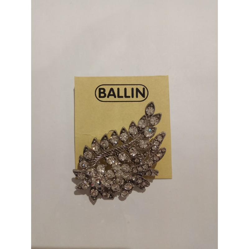 Ballin Women Brooch TM-BR42S Silver