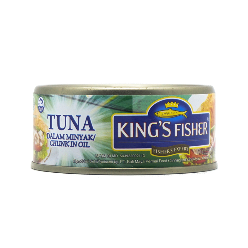 King S Fisher Tuna In Oil  170  Gr