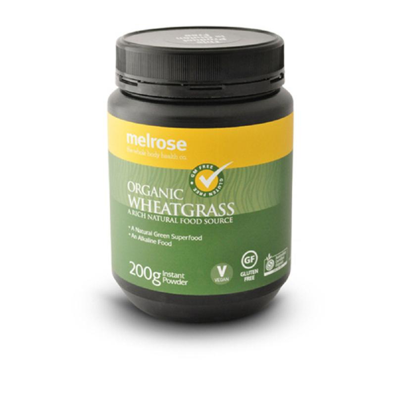 Melrose Wheat Grass Organic Powder 200g