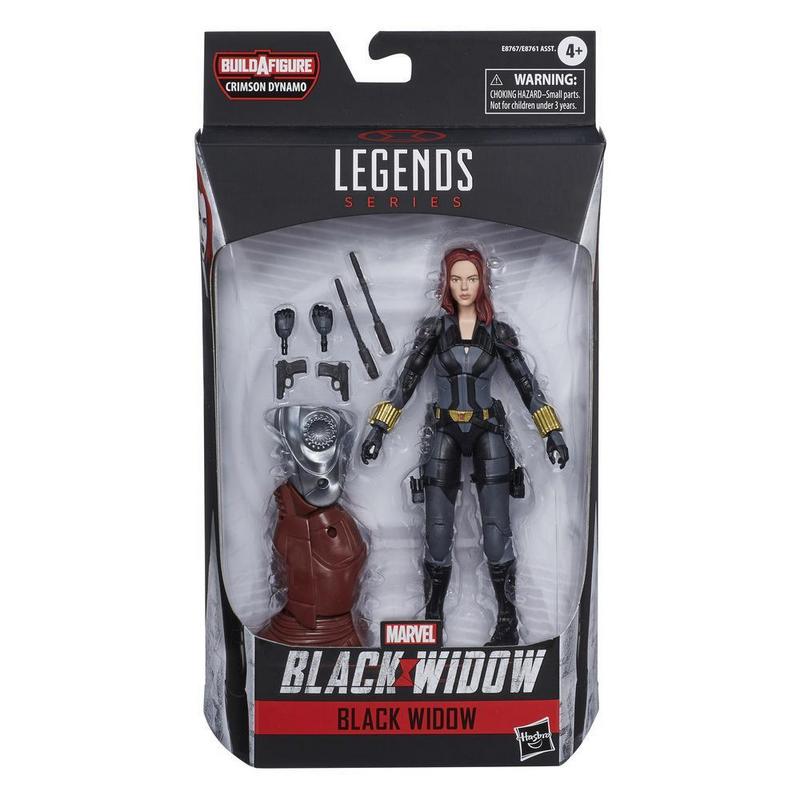 Avengers Black Widow Legends Series 6-inch Black Widow Action Figure - AVSE8767