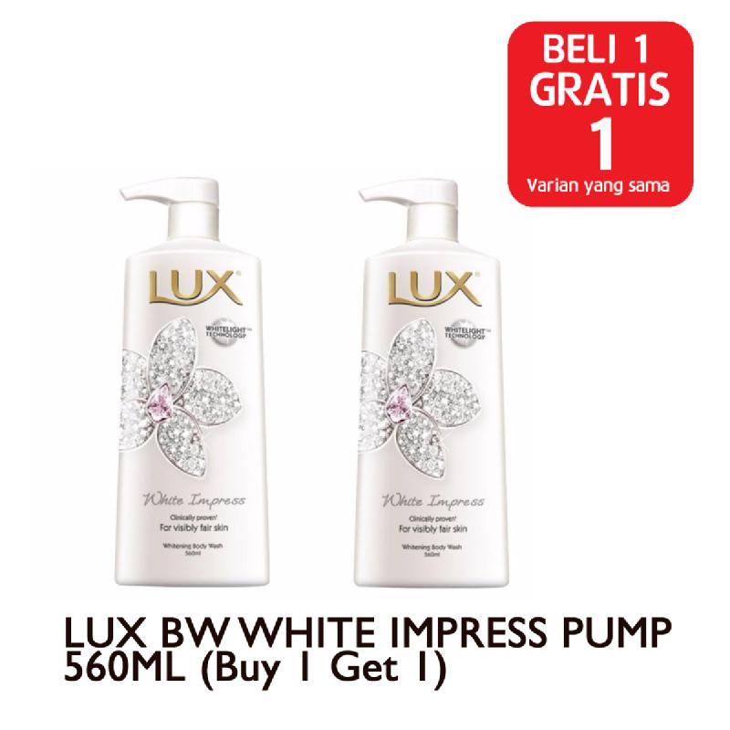 LUX BW WHITE IMPRESS PUMP 560ML (Buy 1 Get 1)