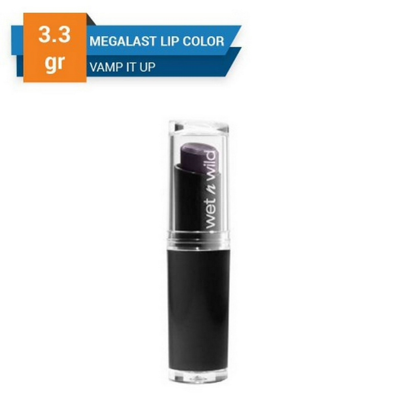 Wet n Wild MegaLast Lip Color Vamp It Up