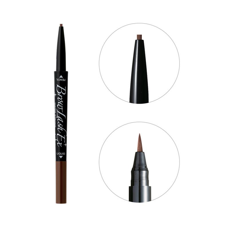 BCL Eyebrow Pencil & Liquid Natural Brown Browlash Ex