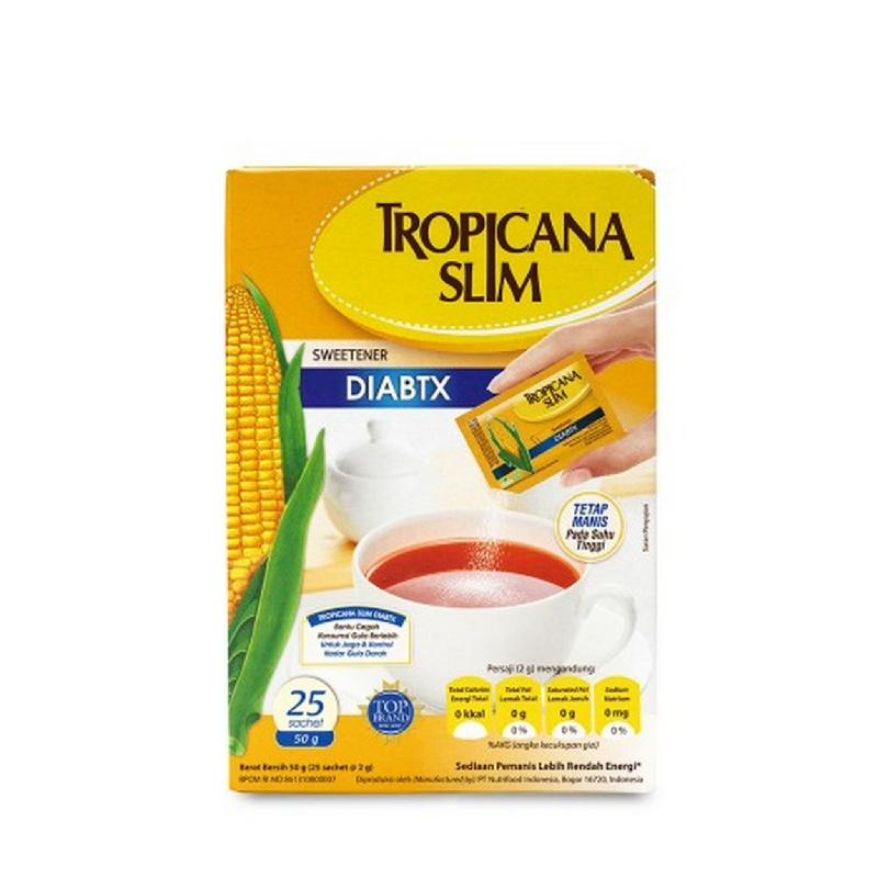 Tropicana Slim Sweetener Diabetic 25'S