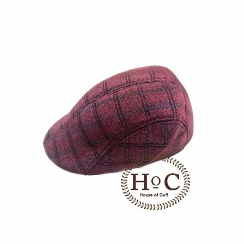 House Of Cuff Topi Painter Hat Painter Hat List Red Maroon