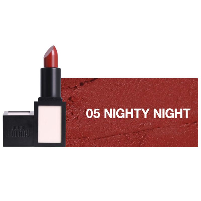 Vue De Pulang Crimson Matte Lip 05 Nighty Night