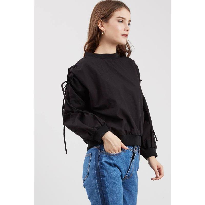 Tobby Sweater Top Black