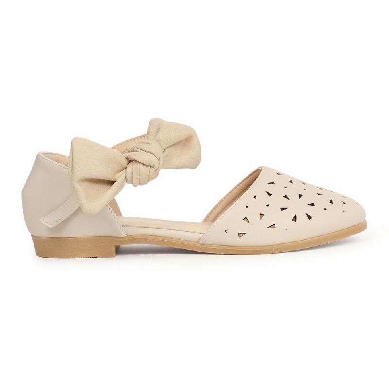 Austin Flat Shoes Kabibe Beige