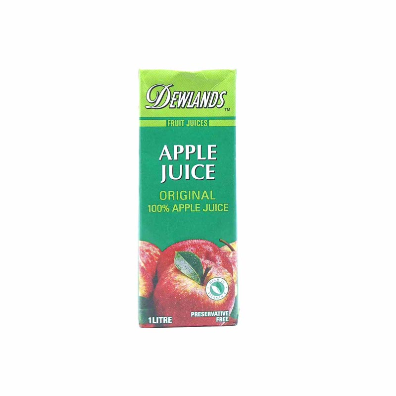 Dewlands Natural Juiceapple Juice  1 Lt
