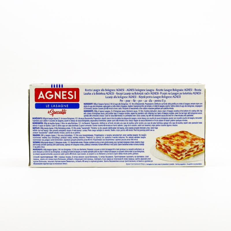 Agnesi Lasagne 500 Gr