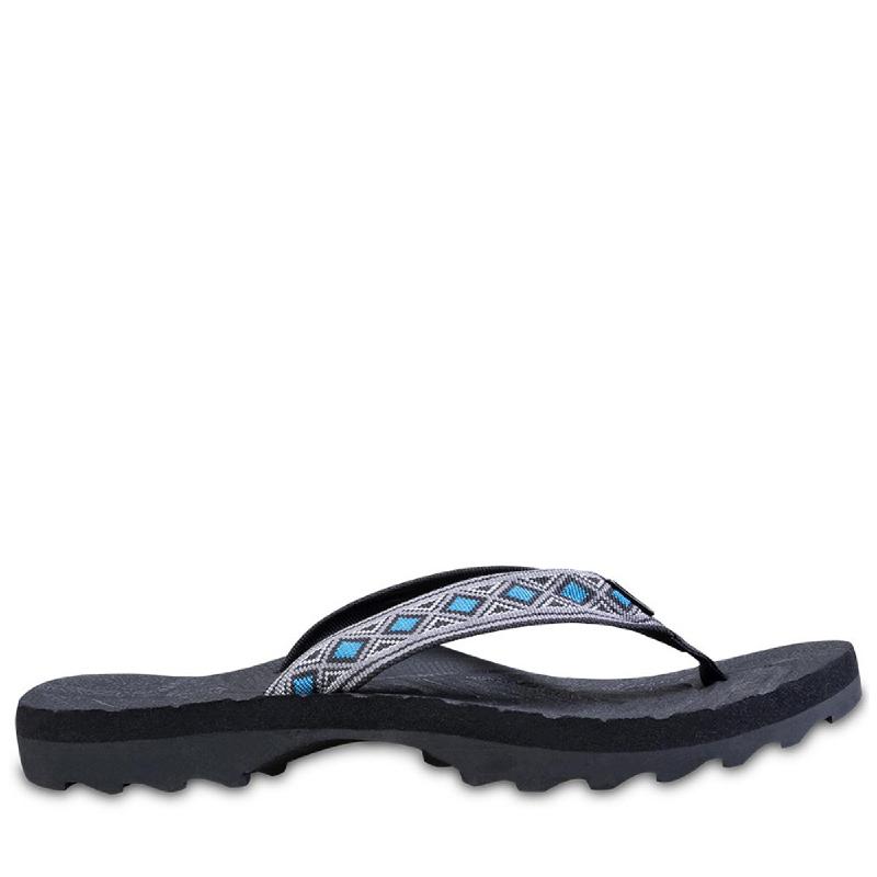EIGER Ugimba Pinch Pattern 4 Sandals - Blue