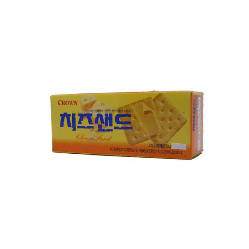 Crown Crackers Cheese Sand 60 Gr