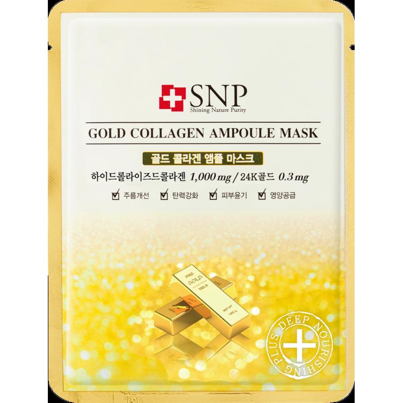 SNP Gold Collagen Ampoule Mask 25ml