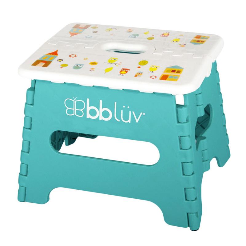 BBLUV Step Folding Step Stool - Aqua