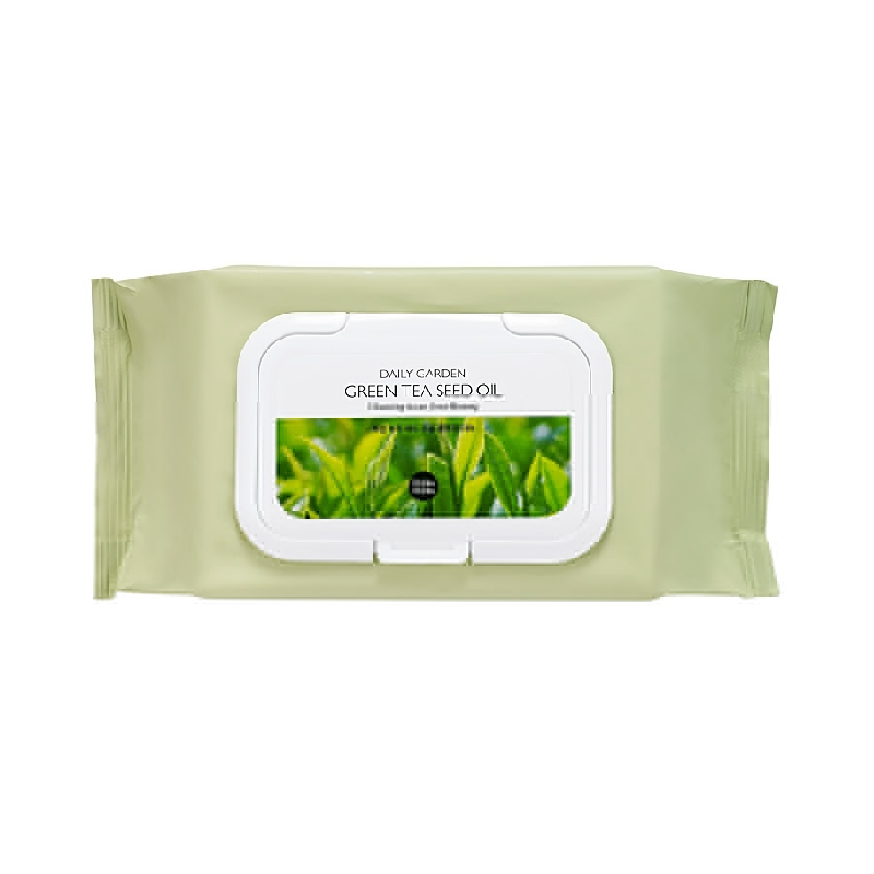 Daily Garden Green Tea Seed Oil Cleansing Tissue