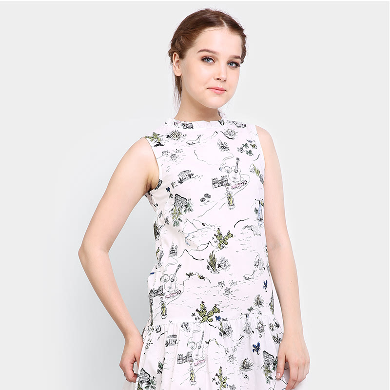 Fashion Country Off White Dress