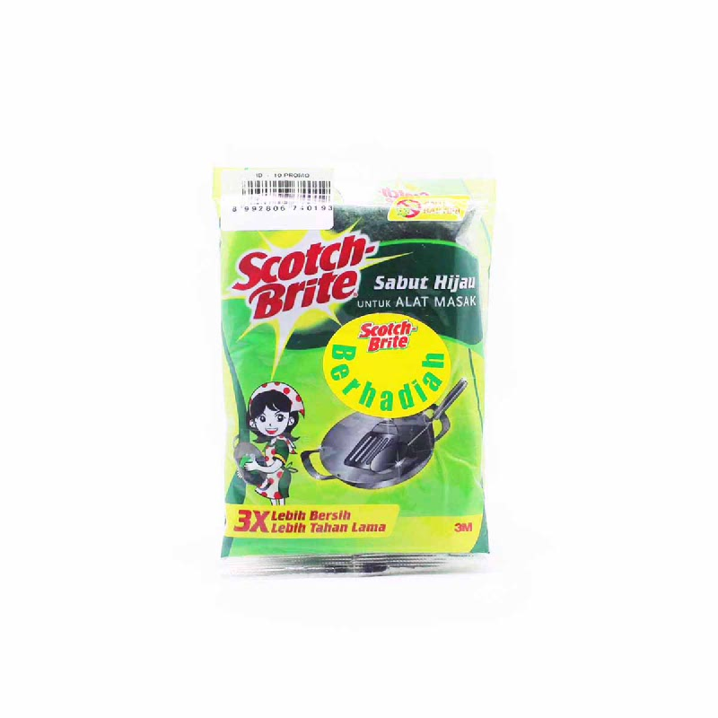 Scotch-Brite 3M Aqua Scouring Pad Id.10Mo 4X6 Inc