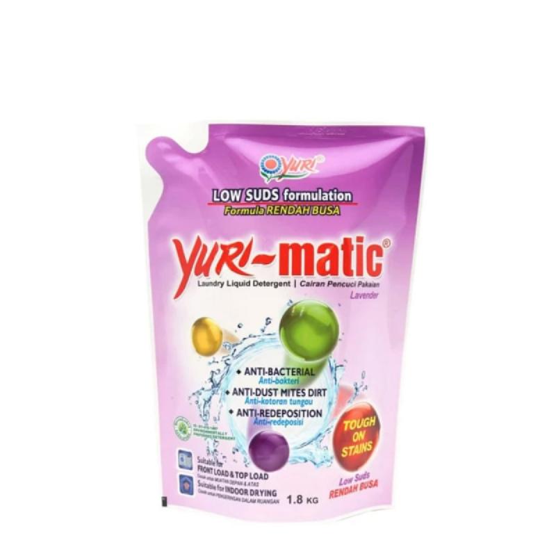 Yuri Detergen Matic Low Sud Pouch 1800 Gr