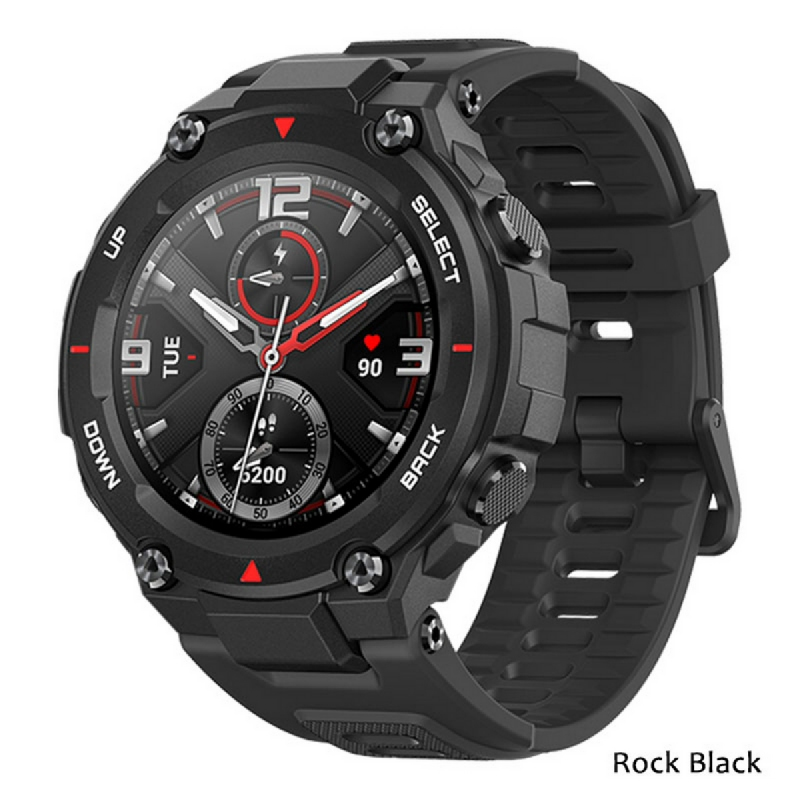 Amazfit T-Rex Smartwatch GPS Waterproof AMOLED Display Original Huami Rock Black