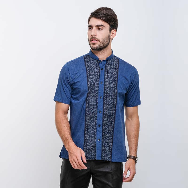 Gianni Visentin Regular ShirtBiru