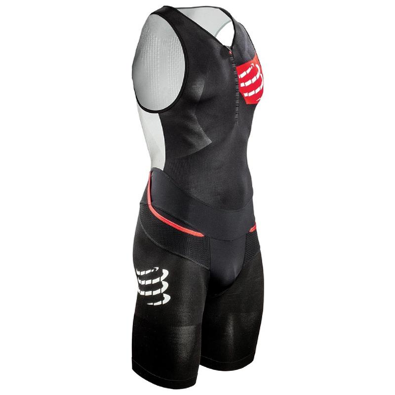 COMPRESSPORT Mens TR3 Aero Trisuit Black