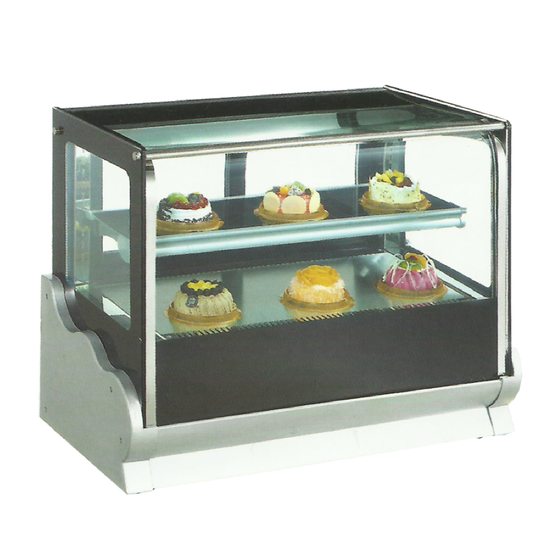 Crown Table Top Cake Showhcase Suhu Dingin TS-120